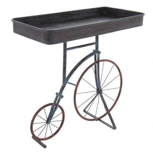 Inart Μεταλλικό Τραπέζι με Θέμα Ποδήλατο